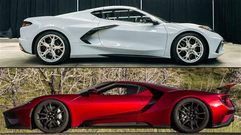 2020 Chevrolet Corvette Stingray Vs. Ford Gt