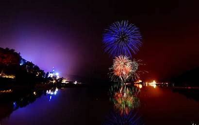Fireworks Firework Wallpapers Night Water Px Backgrounds