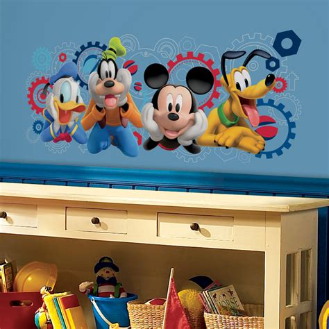 mickey mouse clubhouse capers wall decals rosenberryrooms