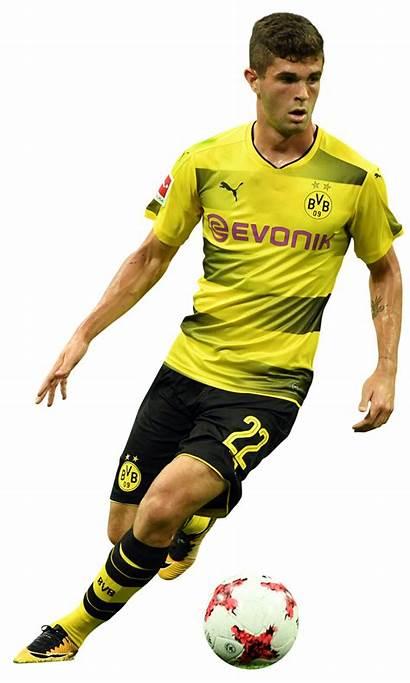 Pulisic Christian Render Footyrenders Dortmund Football