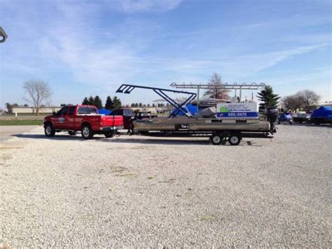 Pontoon Boat Lifts For Sale by Hydraulic Work Barge Tritoon Pontoon For Boat Lift