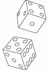 Dice Coloring Pages Drawing Sheets Die Stencil Print Tattoos Tattoo Glass Skull Tutorial 3d Handout Below Please sketch template