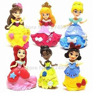 Princess Snow White Little Mermaid Belle Sleeping Beauty ...