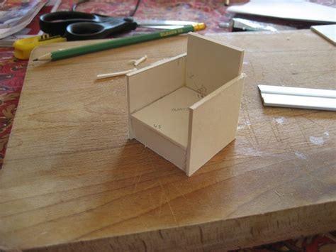 fabriquer une chaise miniature construire un fauteuil miniature la maison de bois
