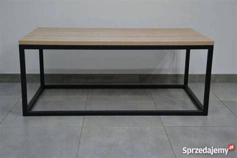 nogi  stolika stolu lawy konstrukcja metalowa loft rama