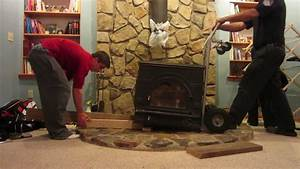 Wood Stove Installation  U0026 Removal  2 22 12