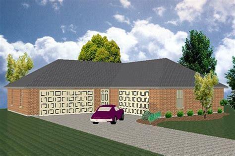shaped  hold   cars garage plan chp   coolhouseplanscom garage plan
