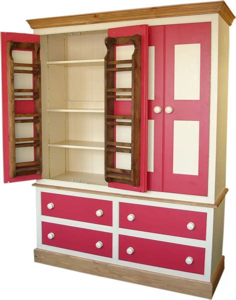 Free Standing Bedroom Cupboards by Larder Or Pantry Cupboard Free Standing Kitchen Solid