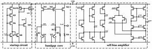 The Schematic Diagram Of The Bandgap Voltage Reference
