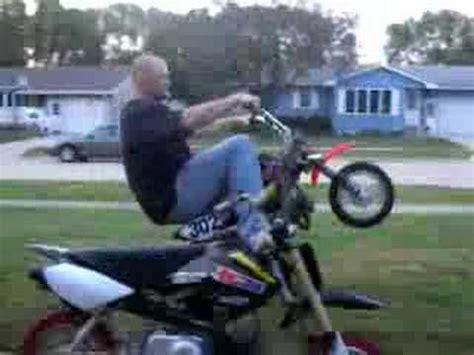 Modified Honda Crf Pit Bike Wheelies Youtube