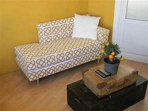 turn an ikea twin bed into a mid century modern daybed With turn single bed into sofa