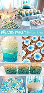 Disney Frozen Dessert Table - Two Sisters