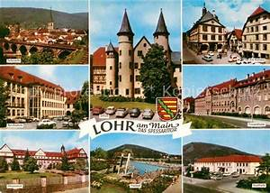 Lohr A Main : ak ansichtskarte lohr main bruecke schloss rathaus frauenkloster stadthalle freibad aloysianum ~ Yasmunasinghe.com Haus und Dekorationen