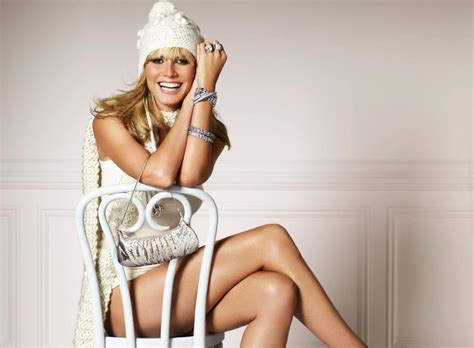 Heidi Klum Lovely Smile Wallpapers Wallpaper Hd