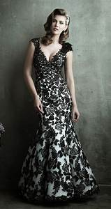amazing vintage black lace wedding dresses ipunya With black vintage wedding dresses