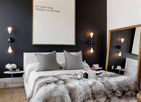 rangement de chambre a coucher couleur noir chambre