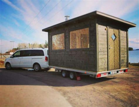 Sauna Trailer, Mobile Sauna, Sauna On Wheels, Bastutrailer