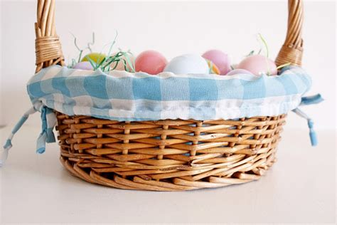 diy easter basket liner why pay for one from pb when