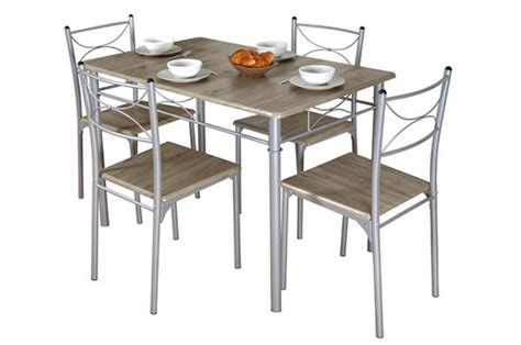 table de cuisine 4 chaises table 4 chaises tuti chene