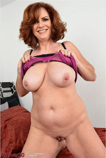 Andi James Shows Pink Milf Pussy