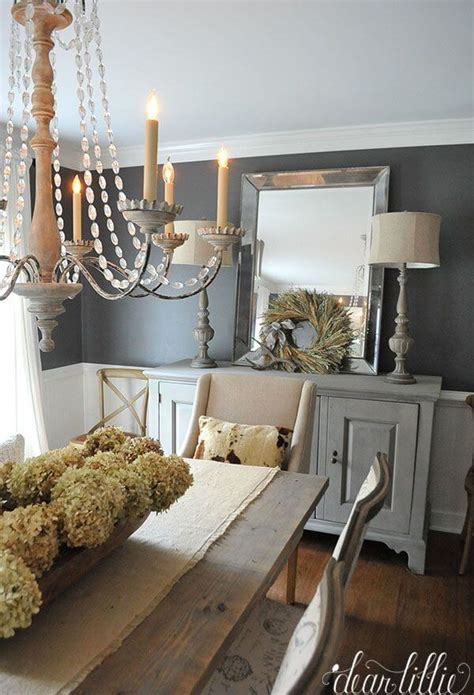 Decorating Ideas For Rustic Dining Room by 37 Best Farmhouse Dining Room Design And Decor Ideas For 2019