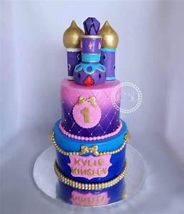 Shimmer & Shine 1St Birthday Cake - CakeCentral com