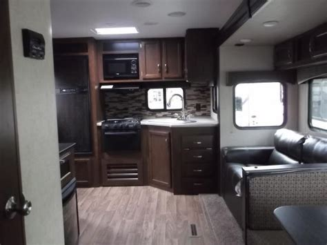 rear kitchen travel trailer 2017 sport trek 251vrk travel trailer with rear kitchen