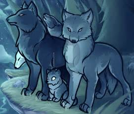 Anime Wolves Pack Drawings