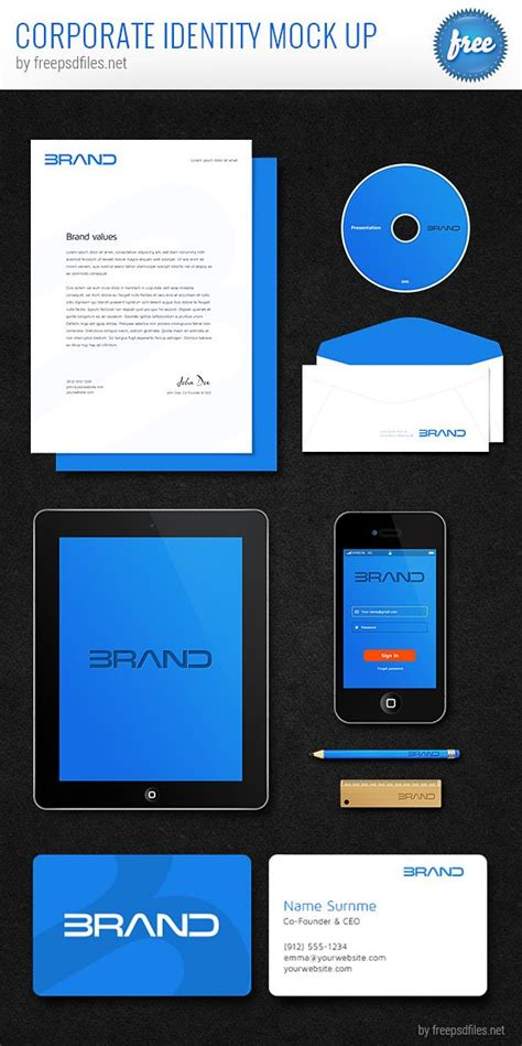 Find the large collection of best free, organized layers, easy to cusomizable photo realistic psd mockups for absolutely free to download and ready to use in you projects. Corporate Identity PSD Mockup - Free PSD Files | Mockup ...