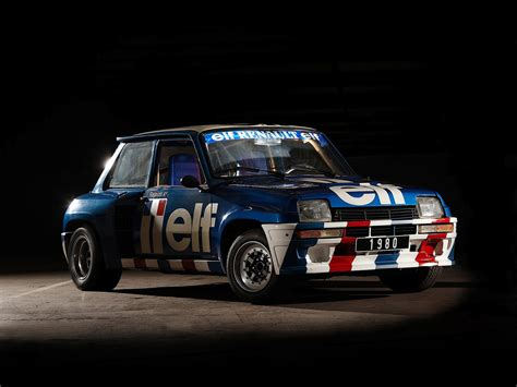 renault 5 rally renault 5 turbo 2 rally car de 1981 conducido por jean