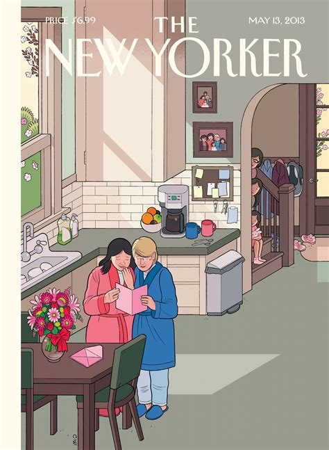 Chris Ware Covers the New Yorker For Mother's Day. | Drawn ...