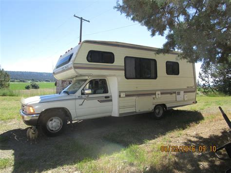 toyota motorhome 1989 toyota dolphin motorhome for sale in klamath falls or