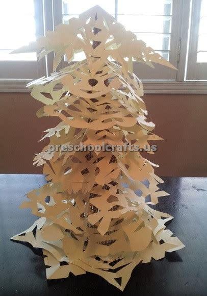winter and craft ideas winter tree craft ideas for preschool and kindergarten 7327