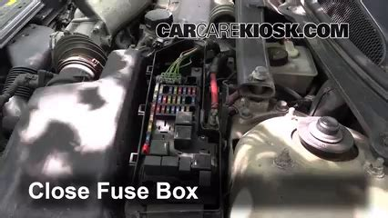 Volvo S80 T6 Fuse Box by Replace A Fuse 1999 2006 Volvo S80 2002 Volvo S80 2 9 2