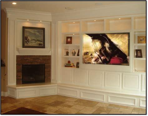 Built In Entertainment Centers Fireplace Entertainment