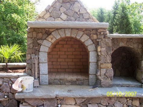 cost of building an outdoor fireplace waxhaw nc outdoor kitchens we do it all low cost contractors builder outdoors living
