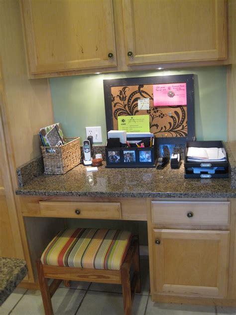 Perfect Kitchen Desk Area And Kitchen Desk Area Ideas