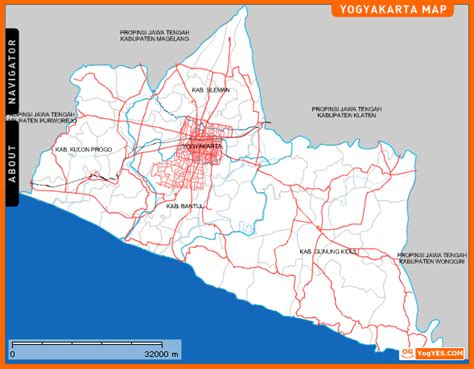 maps map yogyakarta