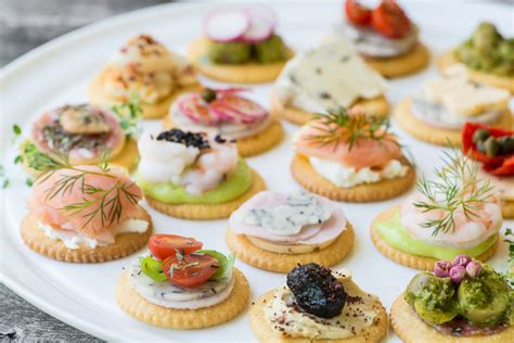 easiest canapes easy ritz cracker canapés the view from great island