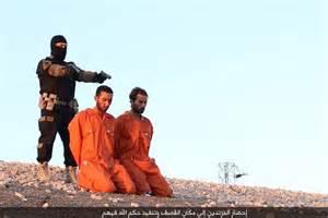 Isis Execution Propaganda