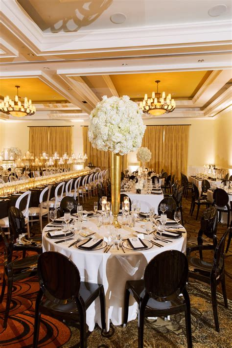 Classic Timeless Elegant Ballroom Wedding Reception Decor