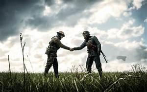 Battlefield 1 Soldiers Handshake HD Wallpaper M9Themes