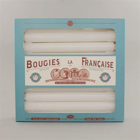 bougie a la franaise bougies la 20 non drip dinner candles
