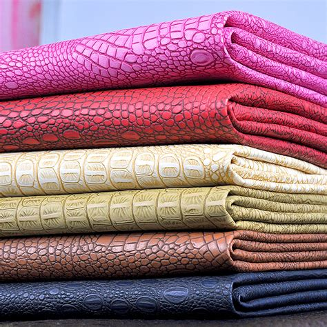 xcm imitation crocodile artificial leather fabric
