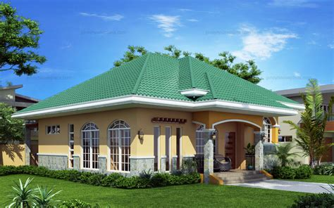 marcela elevated bungalow house plan php pinoy house plans