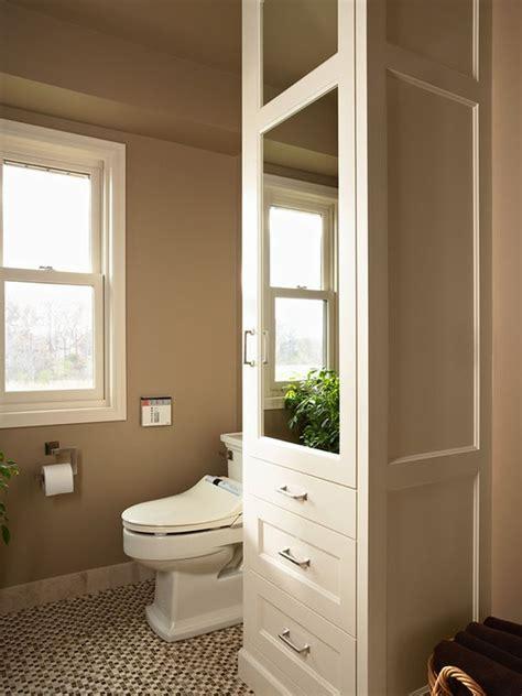 bathroom closet ideas five great bathroom storage solutions