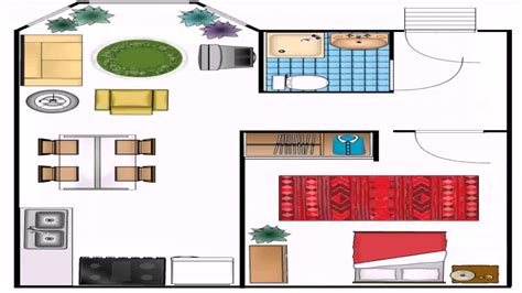 visio house plan template  youtube