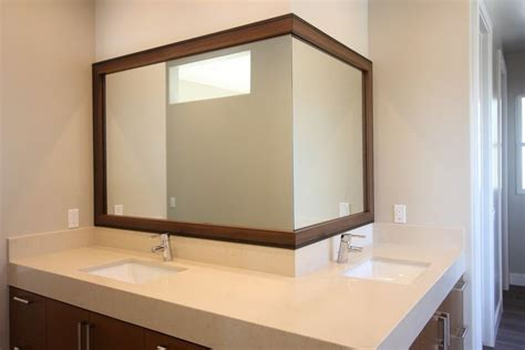 Bathroom Mirror Frame Kits by 1000 Ideas About Tile Mirror Frames On Tile