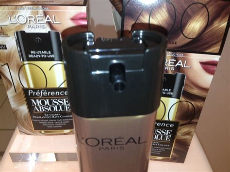 L'oreal Mousse Absolue Home Hair Permanent Hair Colour