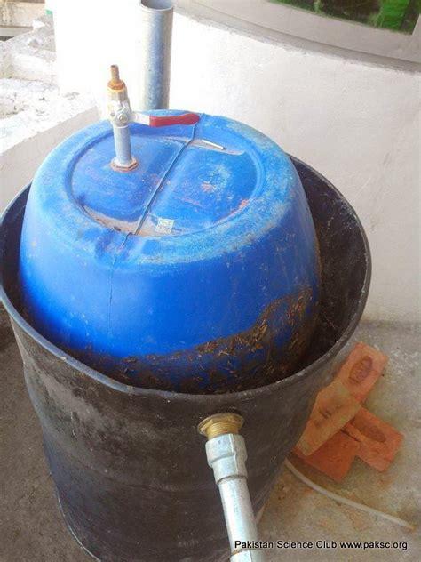 homemade biogas digester  biogas technology